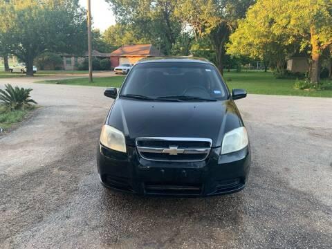 2008 Chevrolet Aveo for sale at CARWIN MOTORS in Katy TX