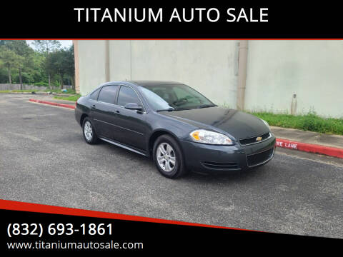 2014 Chevrolet Impala Limited for sale at TITANIUM AUTO SALE in Houston TX