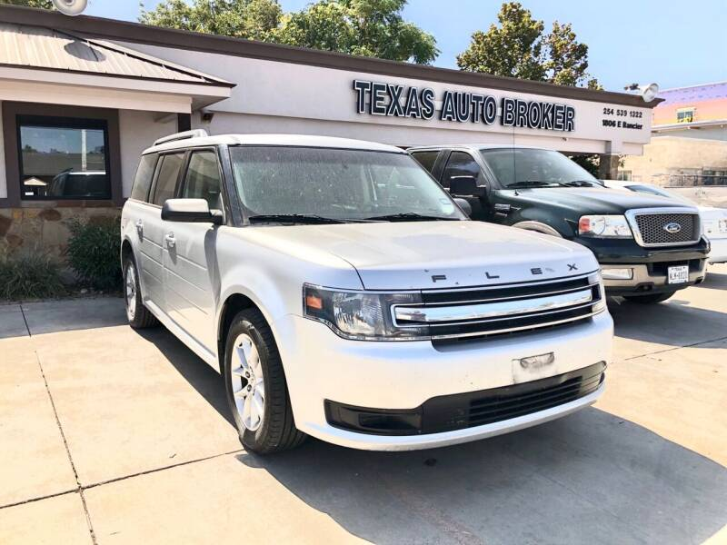 2014 Ford Flex for sale at Texas Auto Broker in Killeen TX