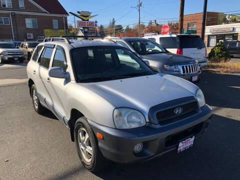 2002 Hyundai Santa Fe for sale at Bel Air Auto Sales in Milford CT