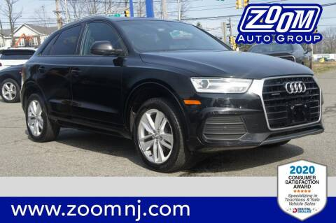 2017 Audi Q3 for sale at Zoom Auto Group in Parsippany NJ