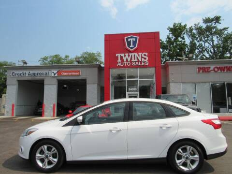 2014 Ford Focus for sale at Twins Auto Sales Inc in Detroit MI