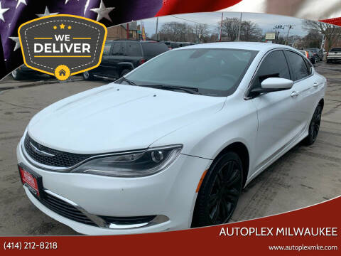 2015 Chrysler 200 for sale at Autoplex 2 in Milwaukee WI