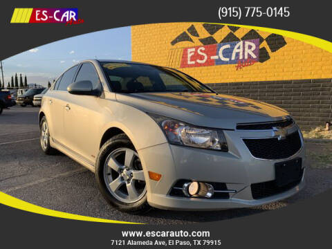 2014 Chevrolet Cruze for sale at Escar Auto - 9809 Montana Ave Lot in El Paso TX
