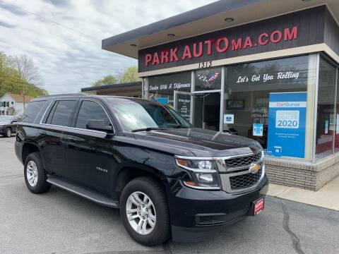 2017 Chevrolet Tahoe for sale at Park Auto LLC in Palmer MA