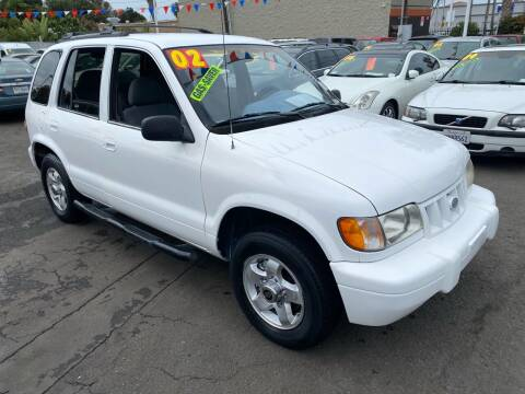 2002 Kia Sportage for sale at North County Auto in Oceanside CA