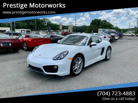 2016 Porsche Cayman for sale at Prestige Motorworks in Concord NC