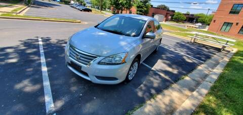 2014 Nissan Sentra for sale at Auto Wholesalers Of Rockville in Rockville MD