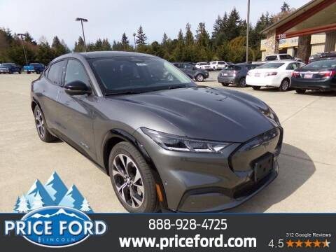 2021 Ford Mustang Mach-E for sale at Price Ford Lincoln in Port Angeles WA