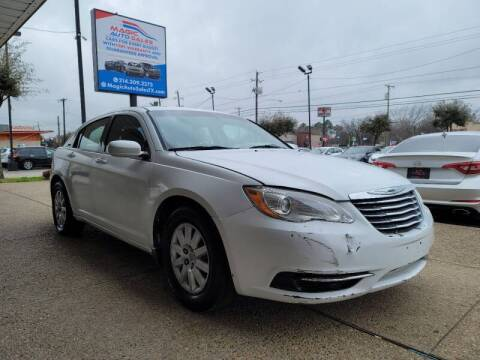 2012 Chrysler 200 for sale at Magic Auto Sales - Cash Cars in Dallas TX