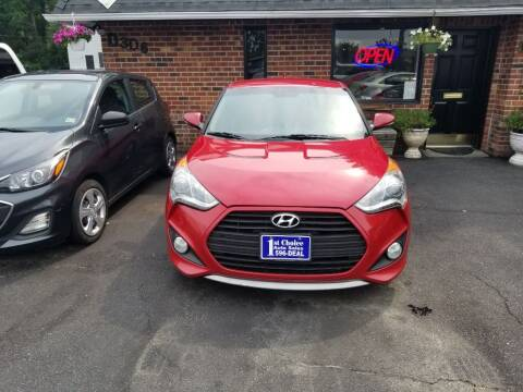 2013 Hyundai Veloster for sale at 1st Choice Auto Sales in Newport News VA