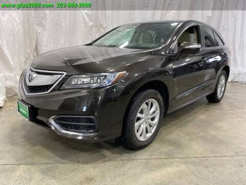 2016 Acura RDX for sale at Green Light Auto Sales LLC in Bethany CT