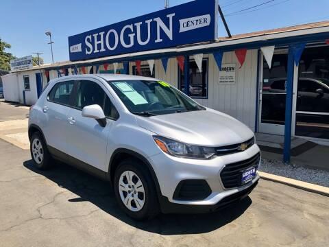 2018 Chevrolet Trax for sale at Shogun Auto Center in Hanford CA