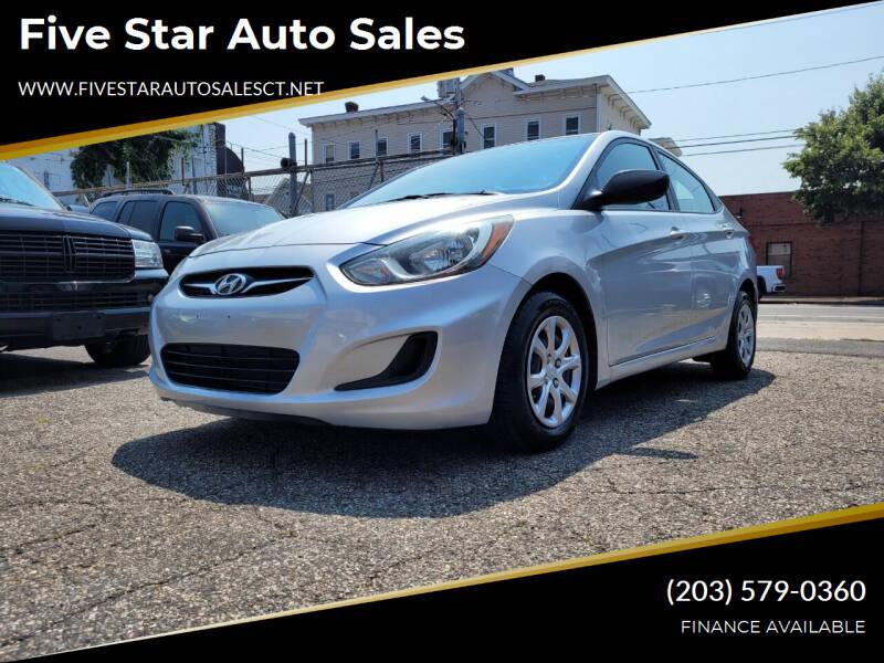 2014 Hyundai Accent for sale in Bridgeport, CT