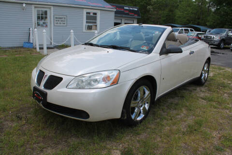 2009 Pontiac G6 for sale at Manny's Auto Sales in Winslow NJ