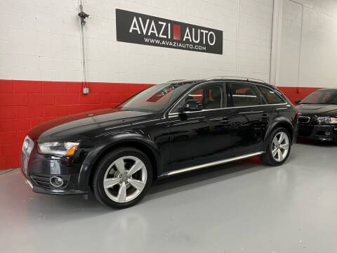 2013 Audi Allroad for sale at AVAZI AUTO GROUP LLC in Gaithersburg MD