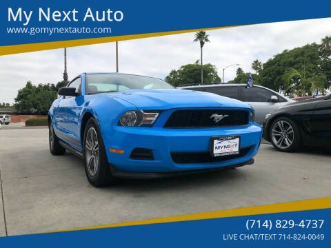 2012 Ford Mustang for sale at My Next Auto in Anaheim CA