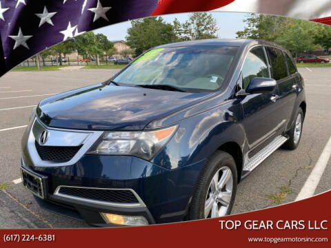 2011 Acura MDX for sale at Top Gear Cars LLC in Lynn MA