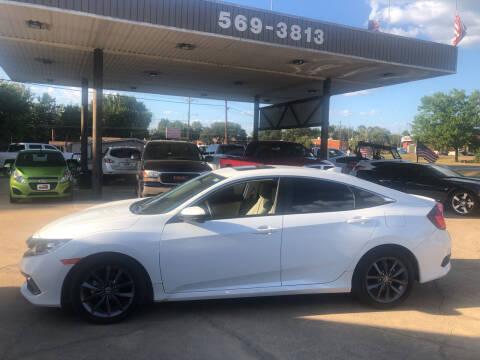 2021 Honda Civic for sale at BOB SMITH AUTO SALES in Mineola TX