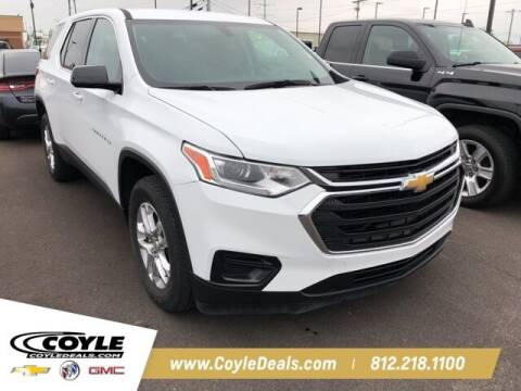 2018 Chevrolet Traverse for sale at COYLE GM - COYLE NISSAN - New Inventory in Clarksville IN