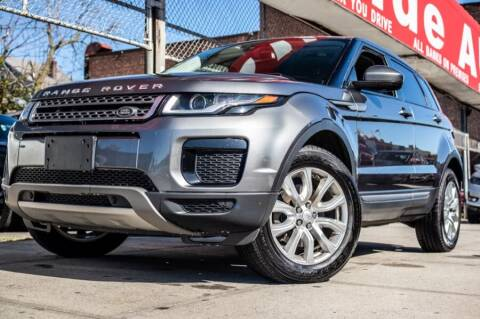 2019 Land Rover Range Rover Evoque for sale at HILLSIDE AUTO MALL INC in Jamaica NY