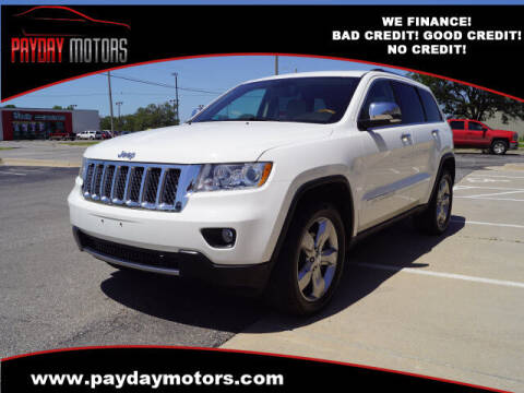 2011 Jeep Grand Cherokee for sale at Payday Motors in Wichita And Topeka KS