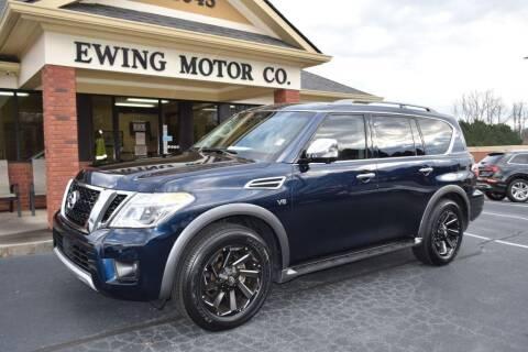 2017 Nissan Armada for sale at Ewing Motor Company in Buford GA