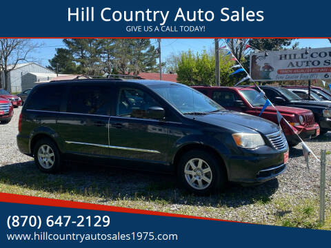 2013 Chrysler Town and Country for sale at Hill Country Auto Sales in Maynard AR