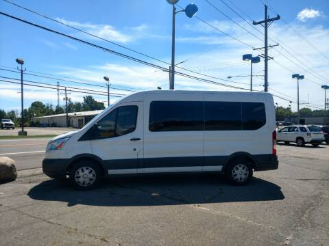 2015 Ford Transit Passenger for sale at J & S Motors in Chardon OH