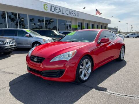 2012 Hyundai Genesis Coupe for sale at Ideal Cars Broadway in Mesa AZ