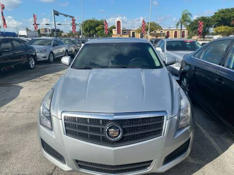 2013 Cadillac ATS for sale at America Auto Wholesale Inc in Miami FL