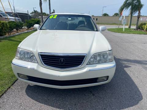 2002 Acura RL for sale at Galaxy Motors Inc in Melbourne FL