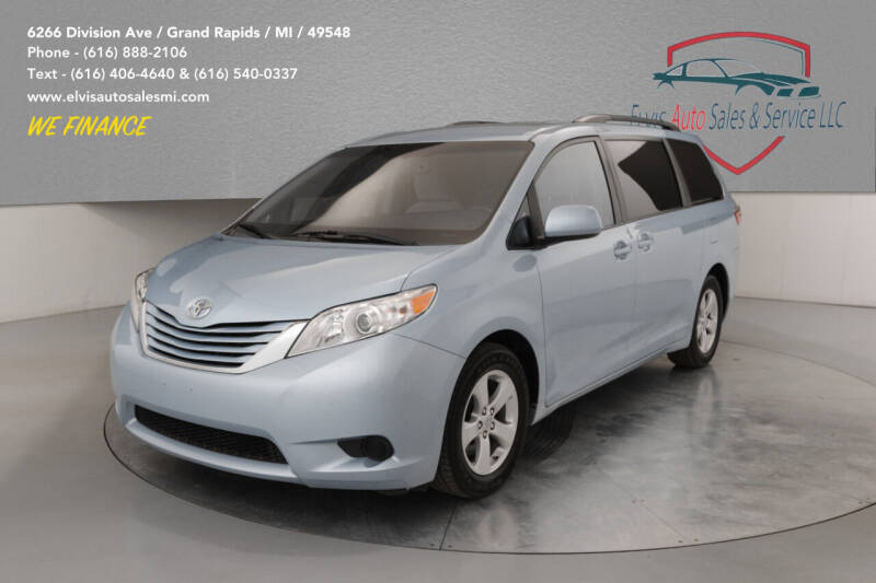 2015 Toyota Sienna for sale at Elvis Auto Sales LLC in Grand Rapids MI