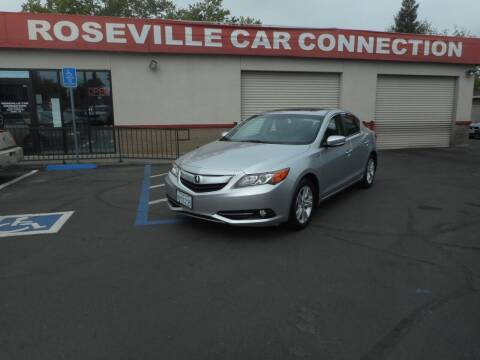 2013 Acura ILX for sale at ROSEVILLE CAR CONNECTION in Roseville CA