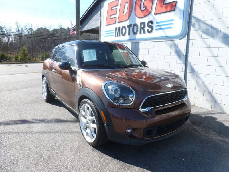 2013 MINI Paceman for sale at Edge Motors in Mooresville NC