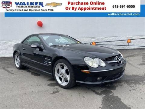 2003 Mercedes-Benz SL-Class for sale at WALKER CHEVROLET in Franklin TN