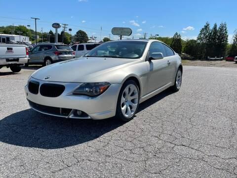 2004 BMW 6 Series for sale at Hillside Motors Inc. in Hickory NC