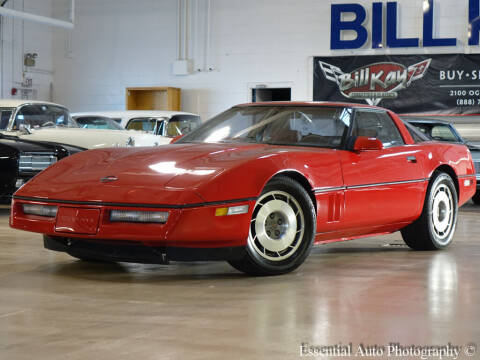 1987 Chevrolet Corvette for sale at Bill Kay Corvette's and Classic's in Downers Grove IL
