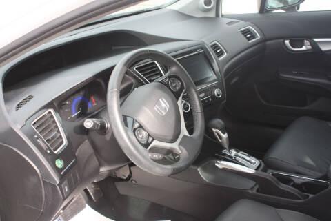 2015 Honda Civic for sale at Auto Villa in Danville VA