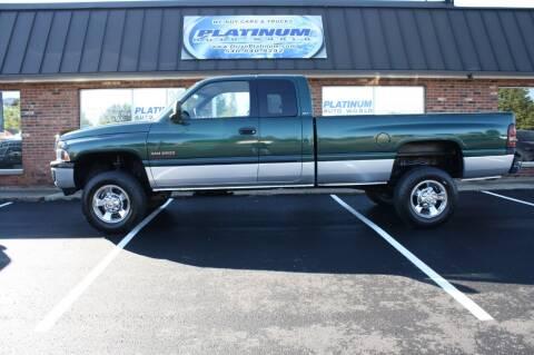 2001 Dodge Ram Pickup 2500 for sale at Platinum Auto World in Fredericksburg VA