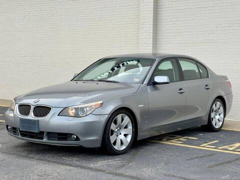 2007 BMW 5 Series for sale at Carland Auto Sales INC. in Portsmouth VA