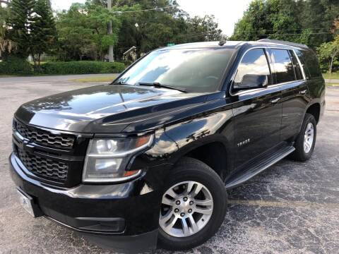 2015 Chevrolet Tahoe for sale at LUXURY AUTO MALL in Tampa FL