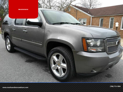 2007 Chevrolet Suburban for sale at Marks and Son Used Cars in Athens GA