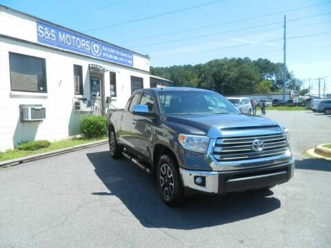 2015 Toyota Tundra for sale at S & S Motors in Marietta GA