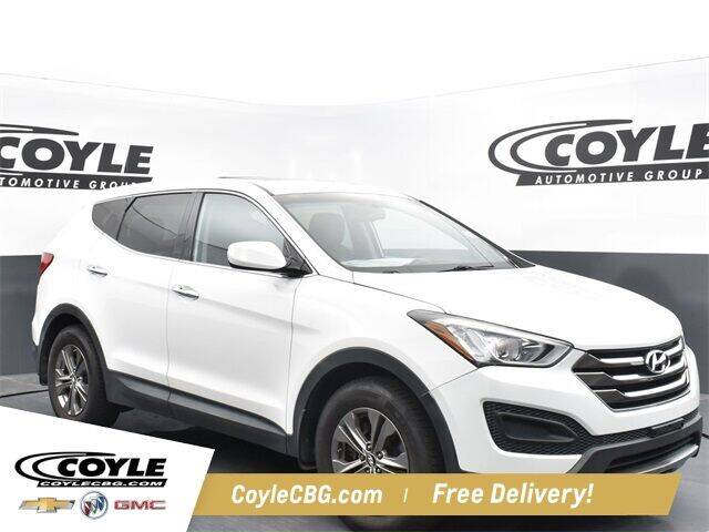 2014 Hyundai Santa Fe Sport for sale at COYLE GM - COYLE NISSAN - New Inventory in Clarksville IN