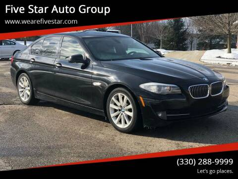 2011 BMW 5 Series for sale at Five Star Auto Group in North Canton OH