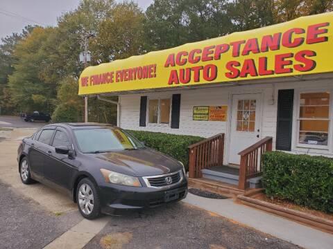 2008 Honda Accord for sale at Acceptance Auto Sales in Marietta GA