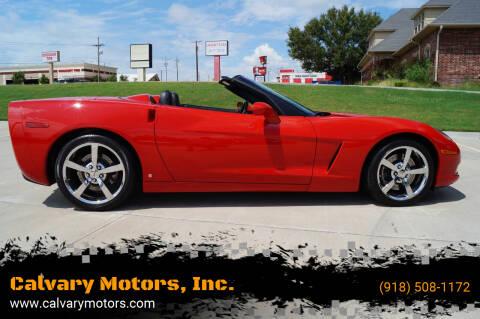 2009 Chevrolet Corvette for sale at Calvary Motors, Inc. in Bixby OK