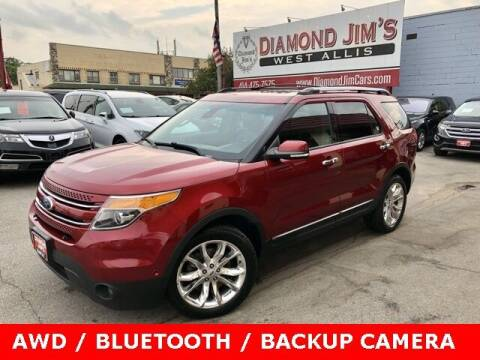 2013 Ford Explorer for sale at Diamond Jim's West Allis in West Allis WI
