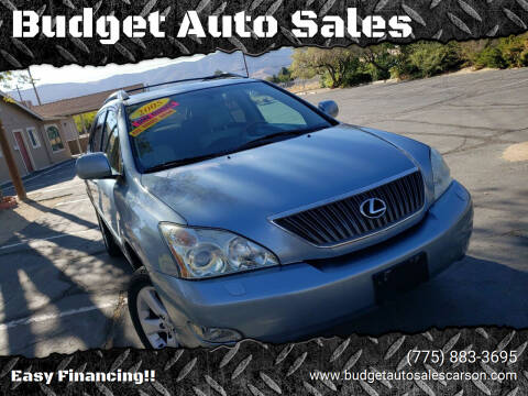 2005 Lexus RX 330 for sale at Budget Auto Sales in Carson City NV
